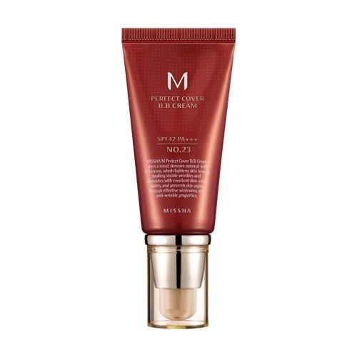 Missha M Perfect Cover BB Cream SPF 42 PA+++-No.31 sárgás bézs 50 ml