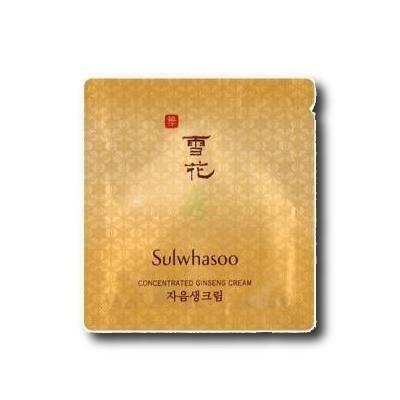 Sulwhasoo Koncentrált Ginseng arckrém minta